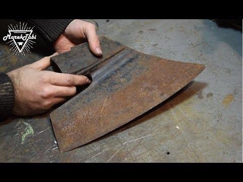 Rusty Axe Restoration