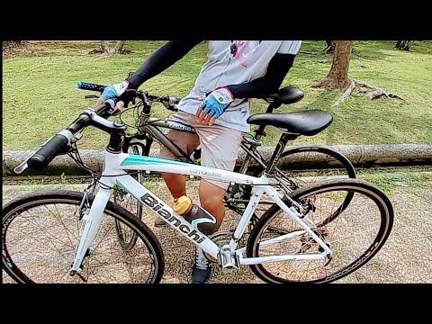 จักรยานไฮบริด Bianchi 7,500 ขาว/เขียว สวย ปั้นทัวริ่ง ลุยเร็วสนุก จากสาย6 Land Bike มาสาย4 พุทธมณฑล