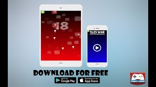 Tiles War - Shoot the number color Tile |Game Trailer | Hamza Games