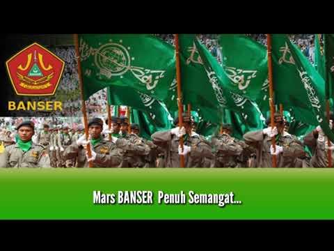 Mars Banser - Lagu dan Lirik ( Lagu Mars NU dan Banom )