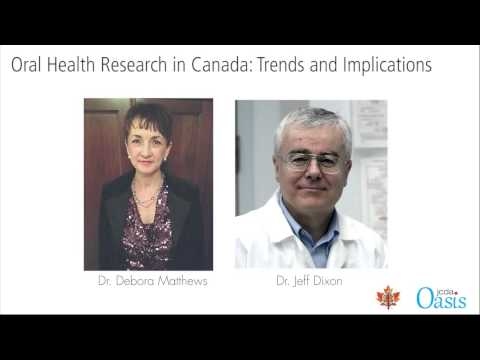 Oral Health Research in Canada: Trends and Implications