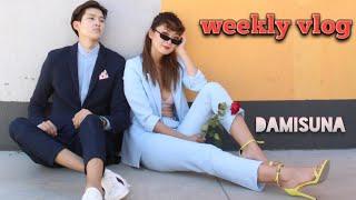 DamisUna Weekly vlog, Sunglass shopping