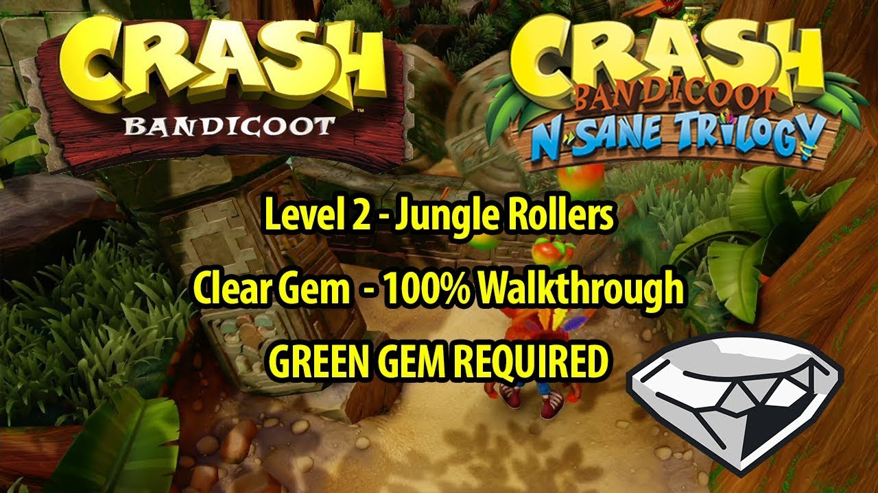 How To Get The Green Gem In Crash Bandicoot 1
