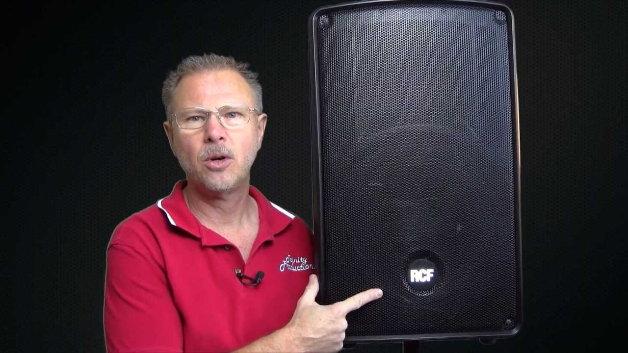 RCF HD12A in depth review inside and out - RCF Authorized Dealer