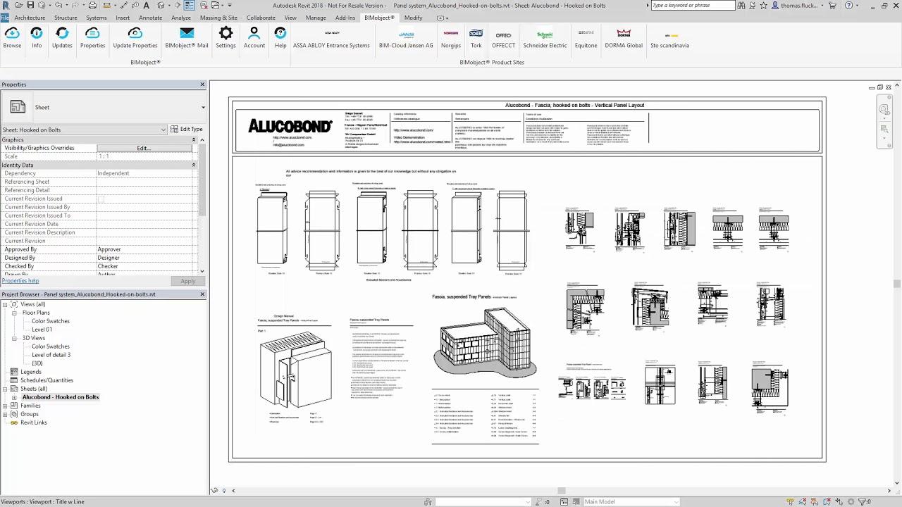 Tutorial // ALUCOBOND® + bimobject® + Autodesk Revit