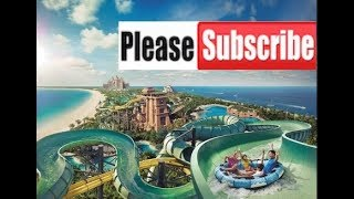 Atlantis, The Palm, Dubai, WaterPark, Shark & Sea Lion Insane fun
