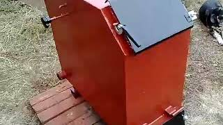 видео Самодельные котлы длительного горения