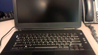 Dell E5430 عدم ظهور الصورة على الشاشة في