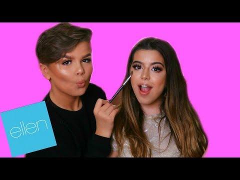 Sophia Grace | Makeup Tutorial By Ellen Show Star Reuben De Maid | Full Face Makeup Look