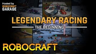 Robocraft Garage: Legendary Racing Highlights