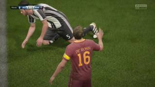 [HD] Juventus vs AS Roma | Serie A | Journée 17 | 17 Décembre 2016 | Gameplay Fifa17
