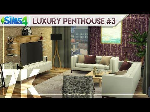7K SPECIAL | LUXURY PENTHOUSE #3 | BUILD + TOUR | The Sims 4 Penthouse Building