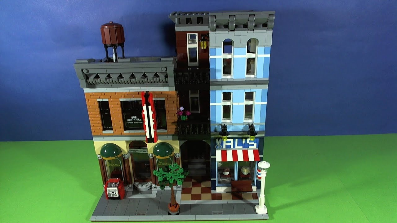 Lego Detective Office 10246 Youtube