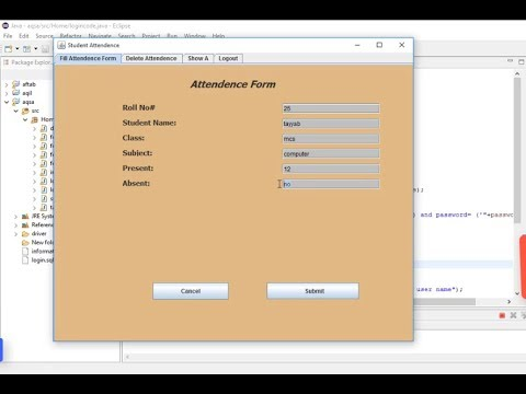 Student thesis database management