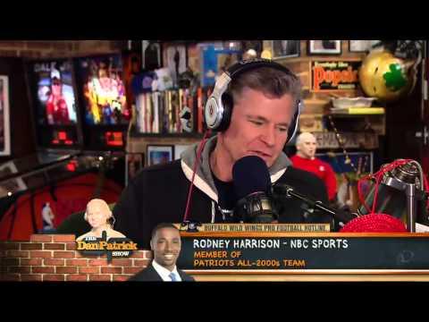 Rodney Harrison - Tells True Story of Final TD In Giants-Pats Super Bowl 1/14/13