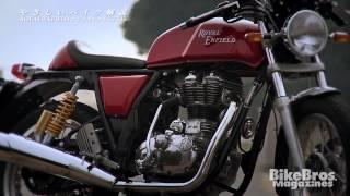 やさしいバイク解説:ロイヤルエンフィールド コンチネンタルGT