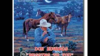 "DON EDWARDS - ""BEGGING TO YOU"""
