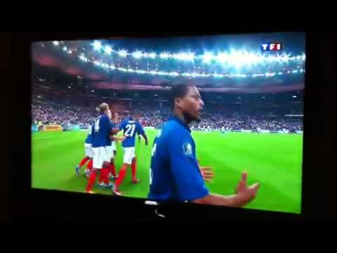 France-Bosnie Penalty Samir Nasri