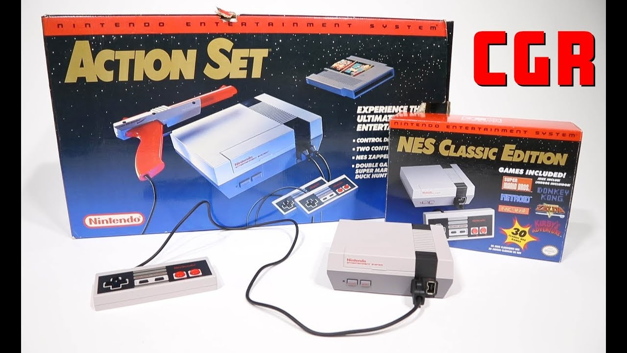 Classic Game Room - NES CLASSIC EDITION review part 1