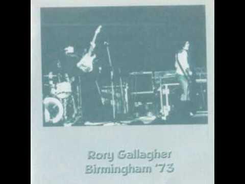 Rory Gallagher Birmingham, England 23, 2, 1973