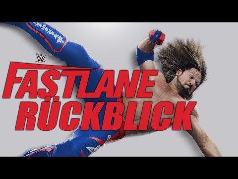 WWE Fastlane 2018 RÜCKBLICK / REVIEW