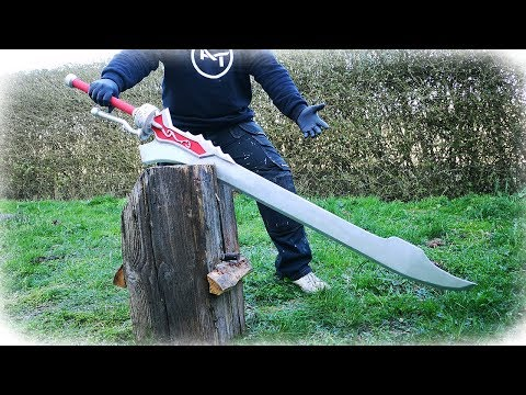Casting Worlds Biggest Aluminum Sword - Devil May Cry 5 (Red Queen)