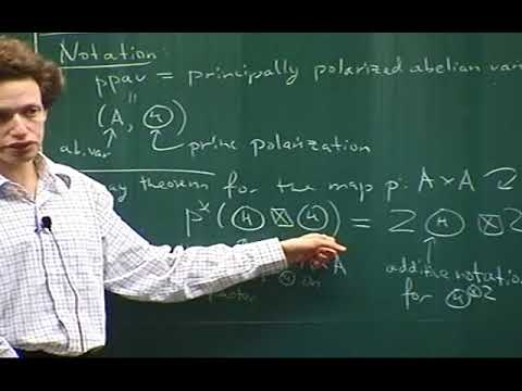 Sam Grushevsky (Princeton Univ.) / Lectures on abelian varieties and integrable systems 2