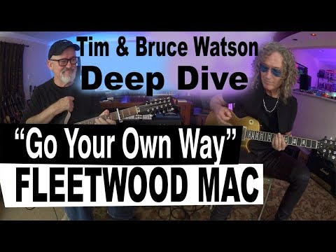 "Deep Dive ""Go Your Own Way"" | Fleetwood Mac | Tim Pierce | Bruce Watson | Guitar Lesson"