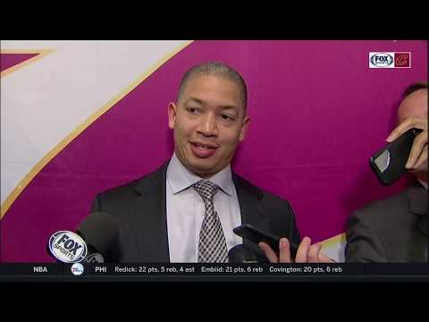 Tyronn Lue frustrated with Cleveland Cavaliers