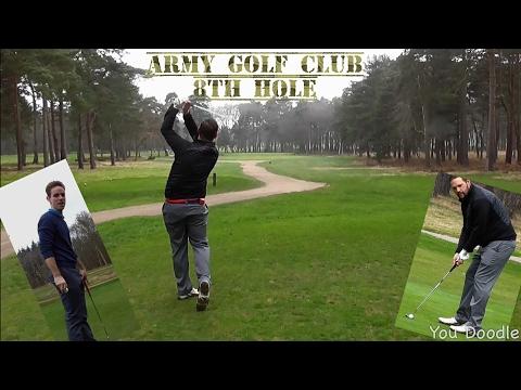 Army Golf Club, 8th hole
