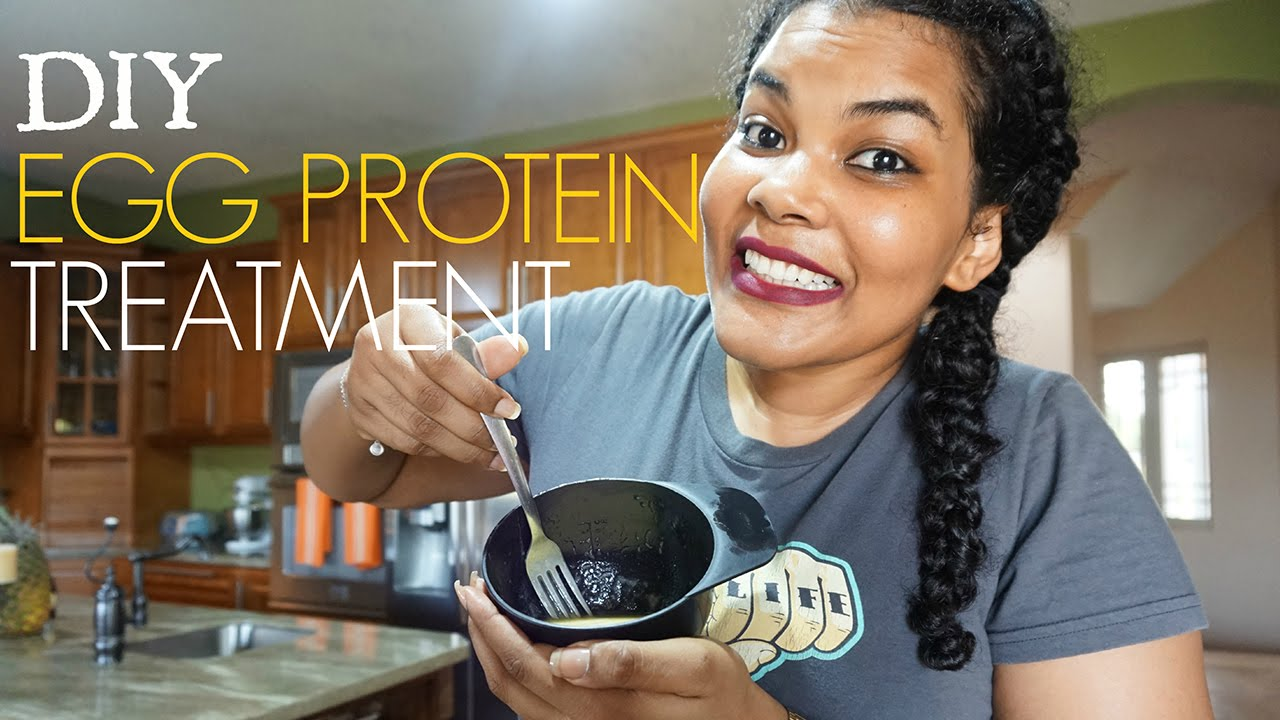 DIY Homemade Egg Protein Deep Treatment | Natural Hair
