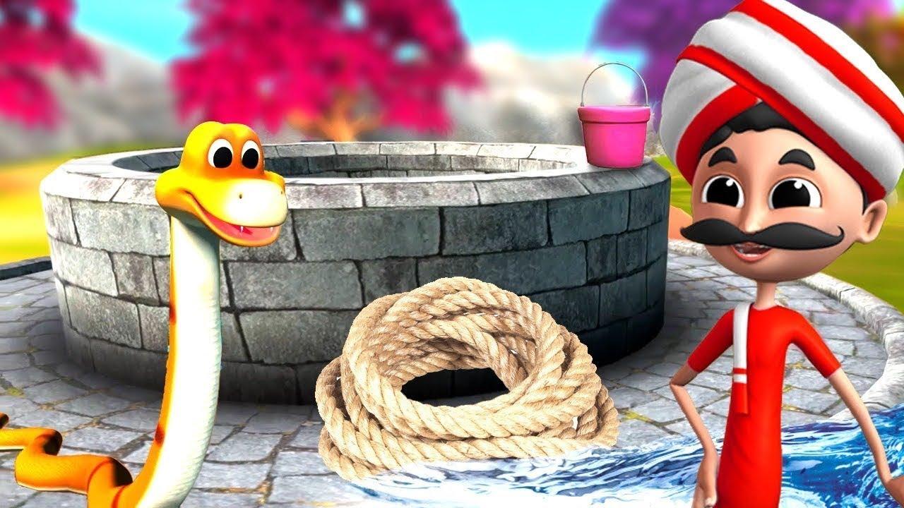 மந்திர பாம்பு Magical Snake Tamil Comedy Story | 3D Tamil Fairy Tales | JOJO TV Moral Short Stories