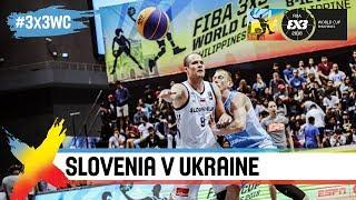 Slovenia v Ukraine   Full Game   Quarter-Final   FIBA 3x3 World Cup 2018