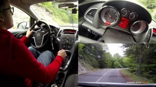 Как правильно ездить в горах? (На примере Opel Astra J в Греции)