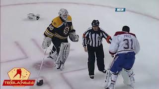 NHL Goalie Fights