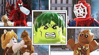 LEGO Marvel Super Heroes 2: BEST/FUNNIEST/UNIQUE IDLE ANIMATIONS!