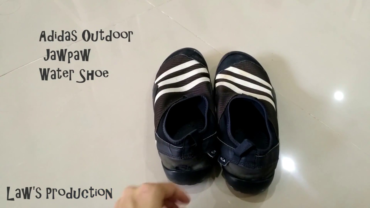 32dab74d59da Adidas Climacool Jawpaw Water Shoe - YouTube