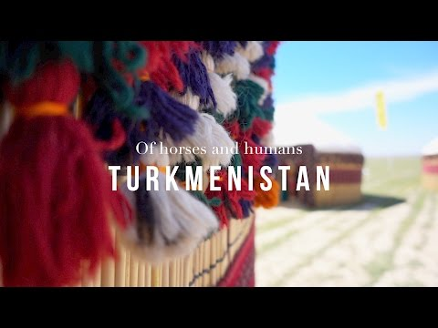 Turkmenistan and the Achal-Teke Horse • Of horses and humans