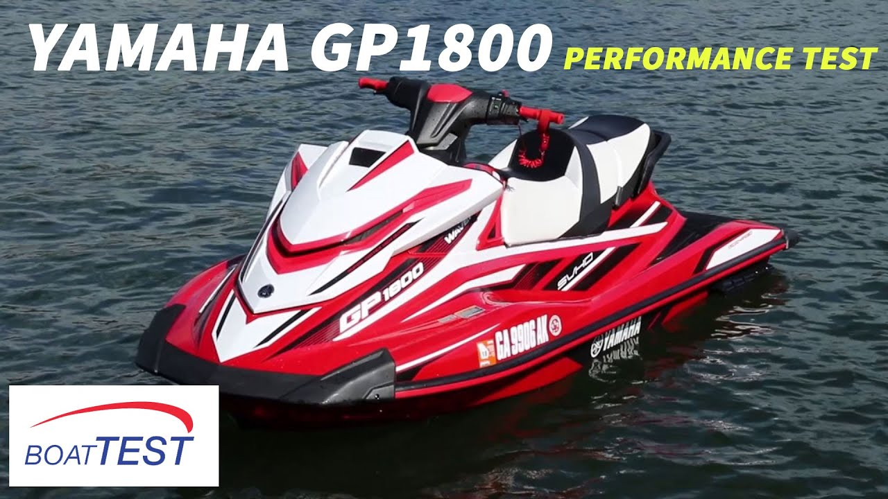 Yamaha gp1800 2017 features video by for Yamaha gp1800 horsepower
