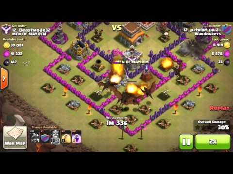 How to TH8 Dragon Attack - Putting drags on a leash (aka funneling)