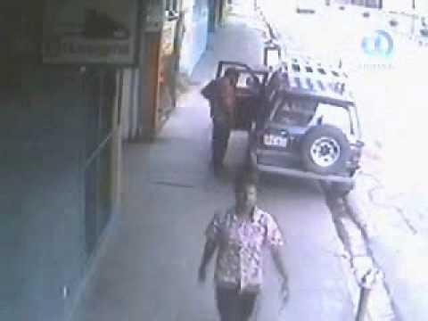 Theft caught on live CCTV Suva Fiji Scrap Metal