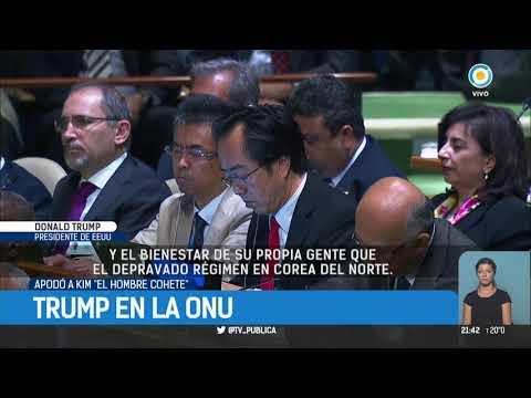 Trump ante la ONU |