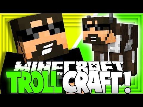 Minecraft: TROLL CRAFT |  HALF MAN HALF COW? [30]