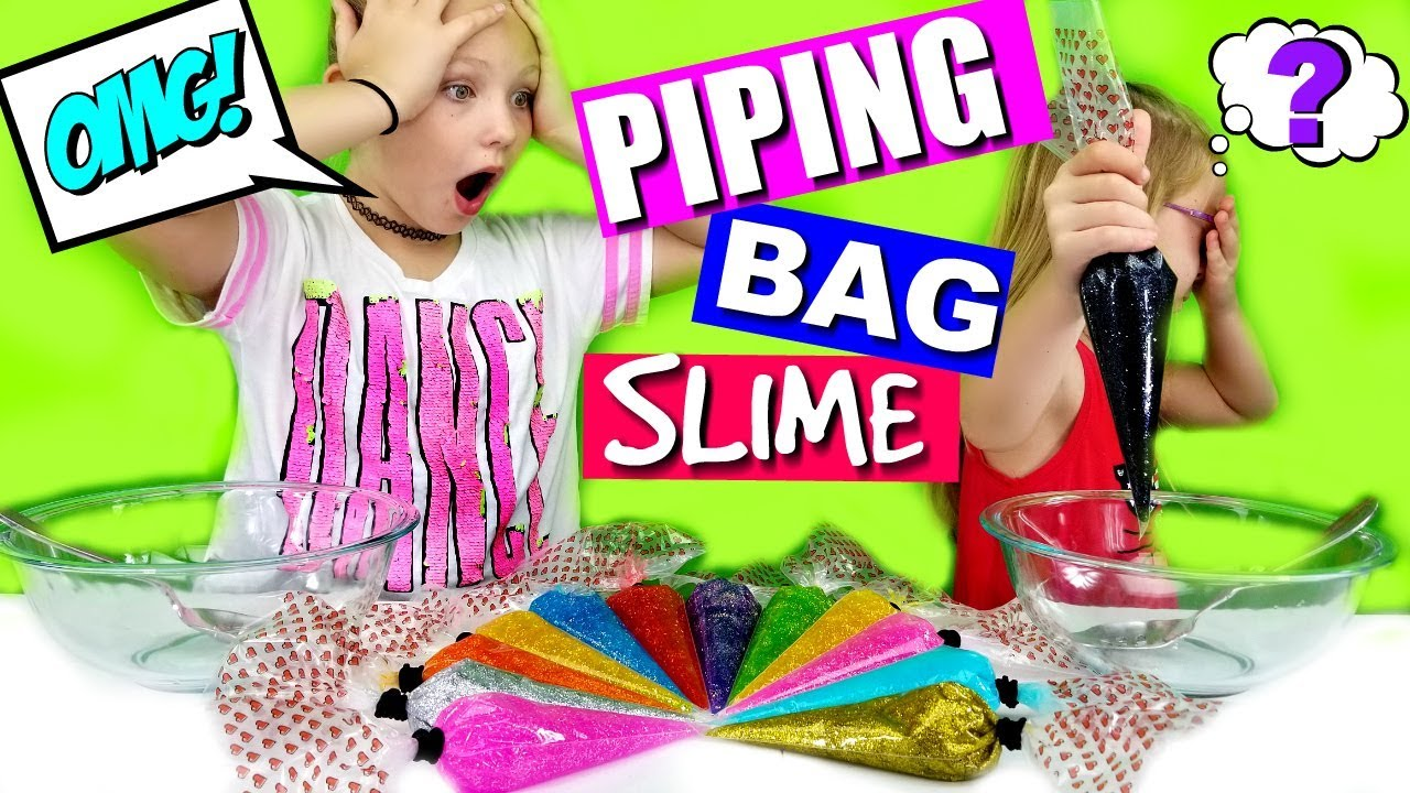 3 colors of glue slime piping bag challenge youtube 3 colors of glue slime piping bag challenge magic box toys collector ccuart
