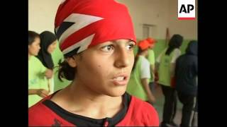 Report On First Girl Boxing Gym In Afghanistan