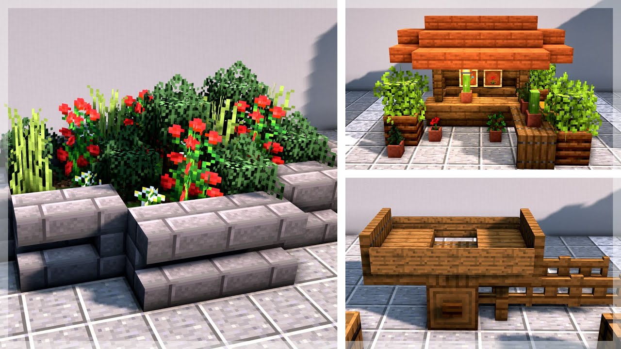 Minecraft 30 Village Decoration Build Ideas And Hacks Youtube