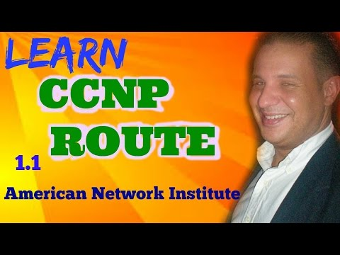 Introduction to CCNP Route Course 1.1