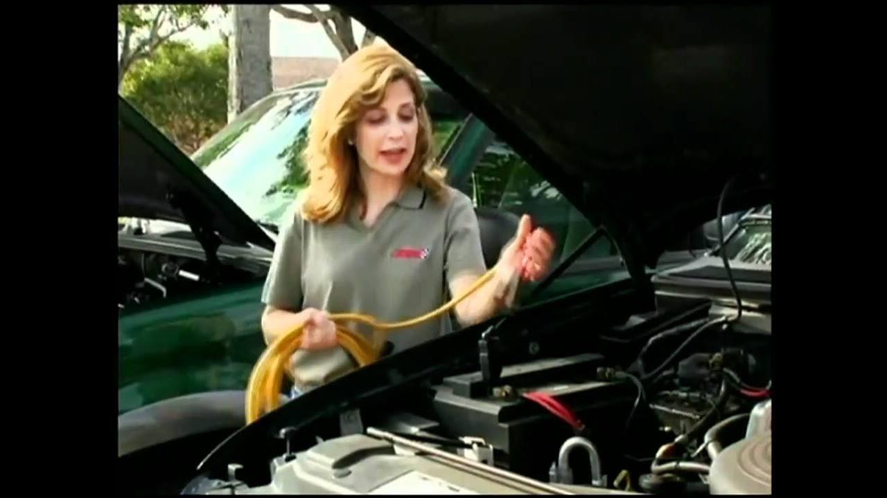 How To Jump Start A Car Battery Advance Auto Parts Youtube 1999 Kia Sportage Engine Diagram