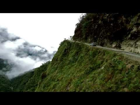 Death Road Bolivia 2013 GoPro 1080p