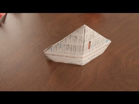 How to Make a Paper Hat : Paper Art Projects